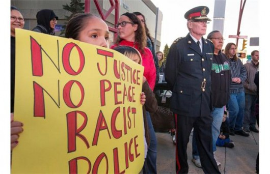 The issue of race as the fundamental topic of police violence