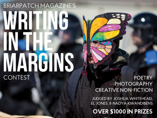 Writing in the Margins: Briarpatch's ninth annual poetry