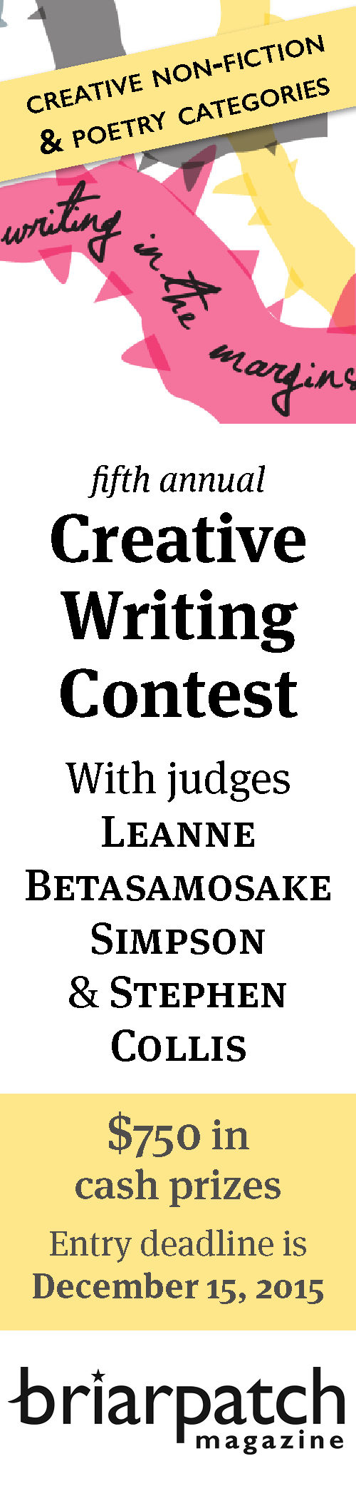 BP Writing Contest 2015